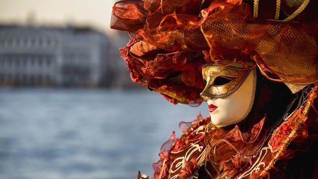 Reina del Adriático Venecia disfraz precioso