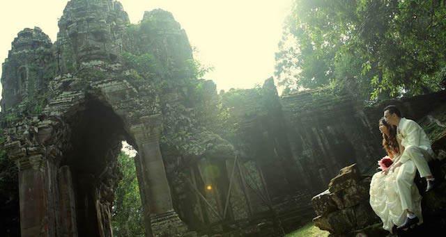 San Valentín 2015 excursión mágica Camboya