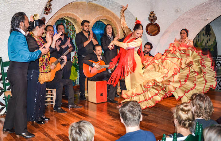 Team building flamenco aprendizaje danzas