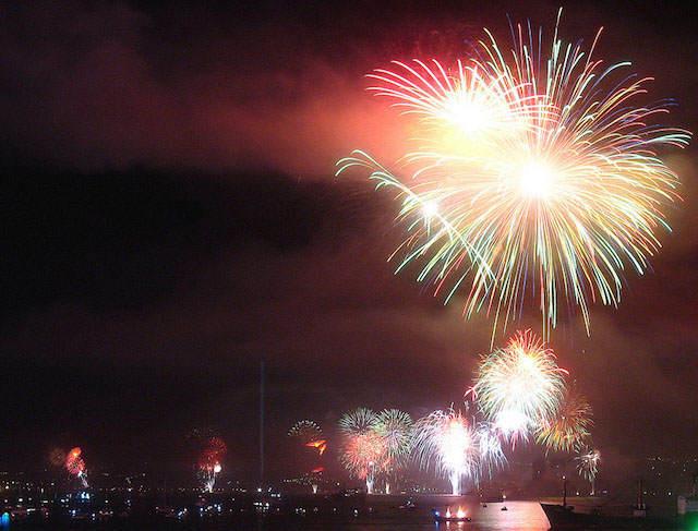 Valparaiso Chile frases de Año Nuevo 2015
