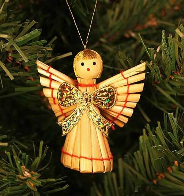 un adorno precioso Navidad ángel