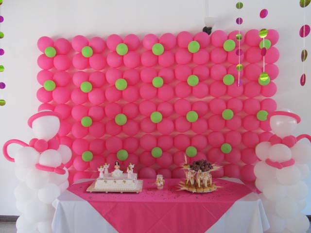 adornos de globos decorar pared mesa globoflexia