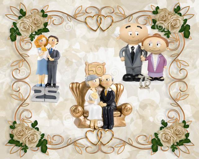 frases aniversario de boda 25 50 75 años