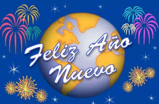 felicidades año nuevo