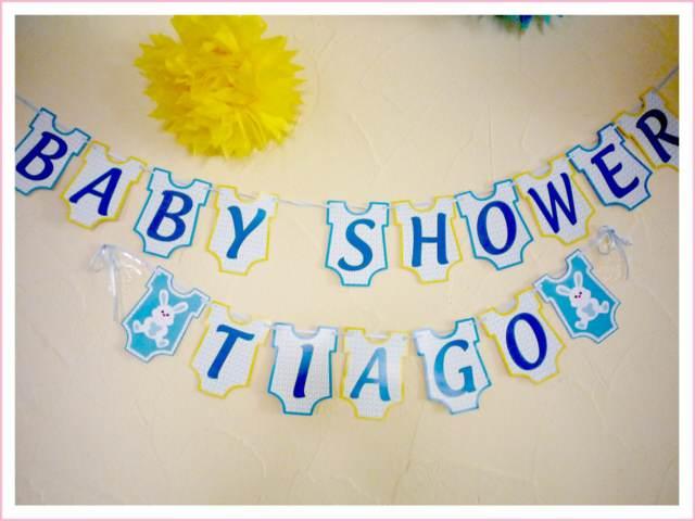 baby shower decoración temática niño