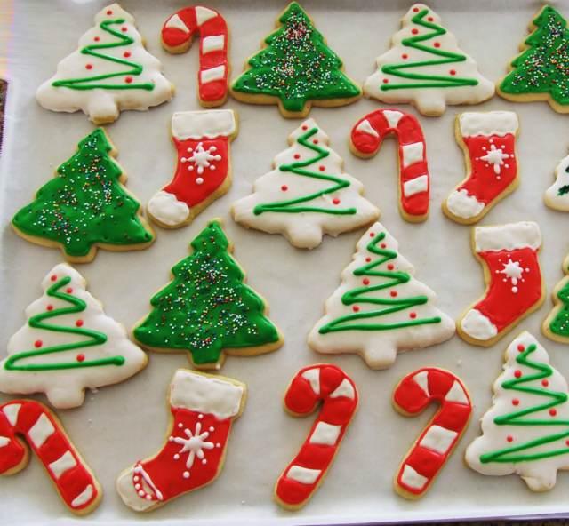 bandeja galletas navideñas decoradas