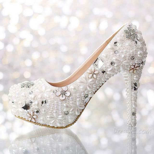 boda zapatos tendencias nuevas modelos preciosos