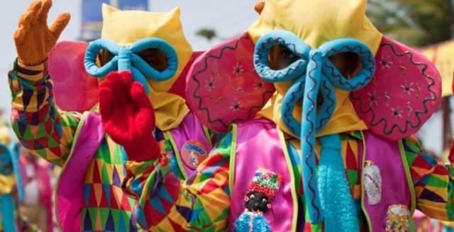 Colombia carnaval de Barranquilla fiesta magnífica