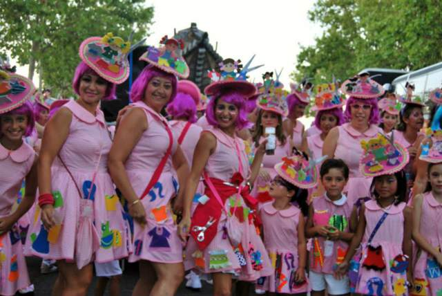 carnaval ideas disfraces fiesta tématica color rosa