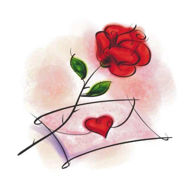 cartas de amor para mi novio dibujo precioso