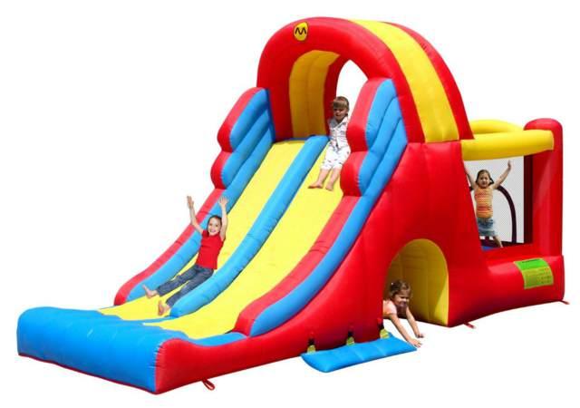 castillos inflables juegos diferentes niños