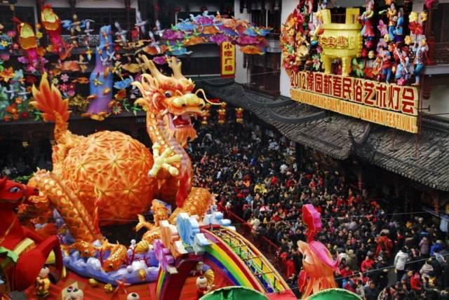 China el Año Nuevo celebraciones