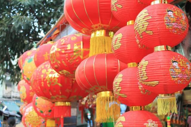 China linternas Año Nuevo