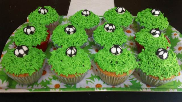 cupcakes decorados ideas preciosas color verde