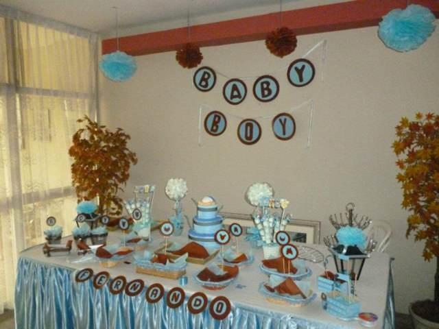 decoración baby shower colores temáticos dulces