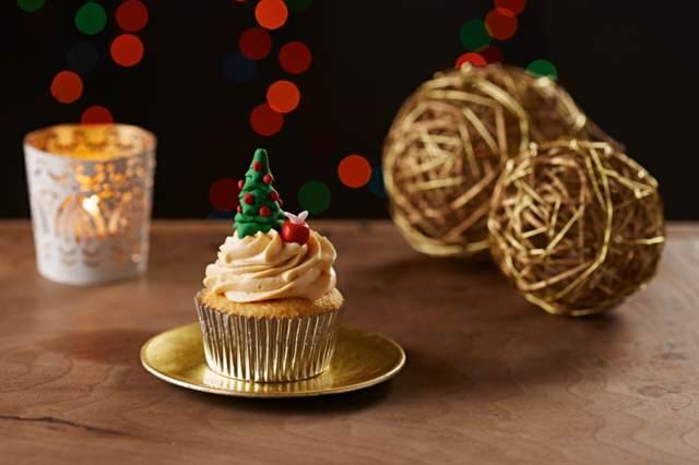 decoración cupcakes ideas originales Navidad