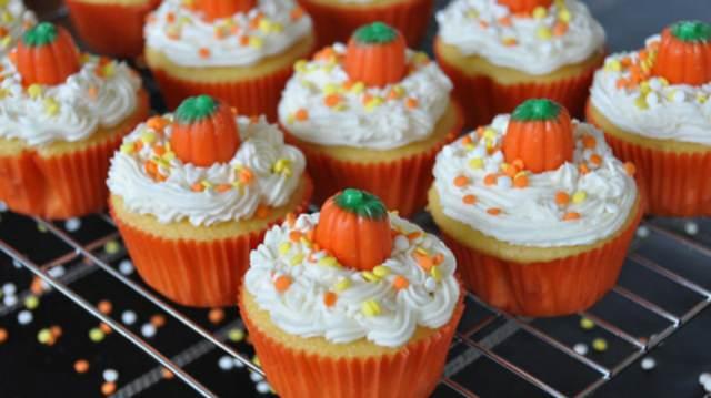 decoración de cupcakes decoración increíble color naranja