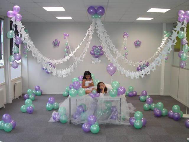 Decoraciones enteras con adornos de globos - Decoracion bodas con globos ...