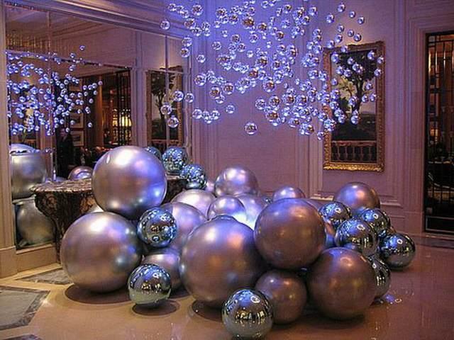 decoración Navidad unas bolas preciosas