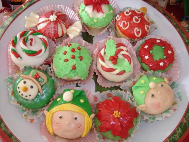 decoración Navidad unas galletas decoradas