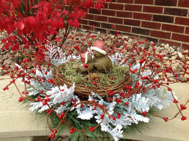 decoración Navidad preciosa artificial