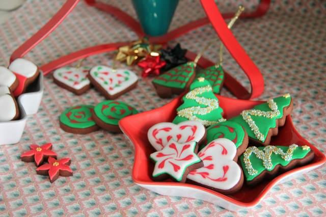 decoración original unas galletas decoradas Navidad