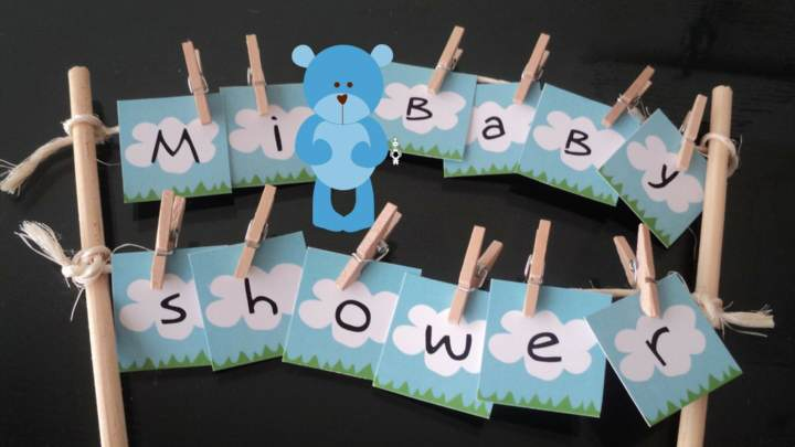 decoración baby shower manualidades originales ideas