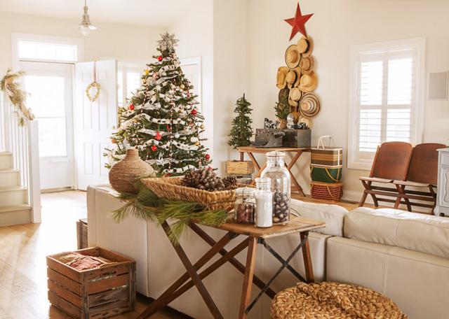 Navidad decoración hogar ideas temáticas tendencias modernas