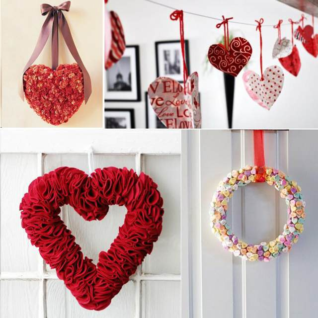 decoración original San Valentín ideas originales