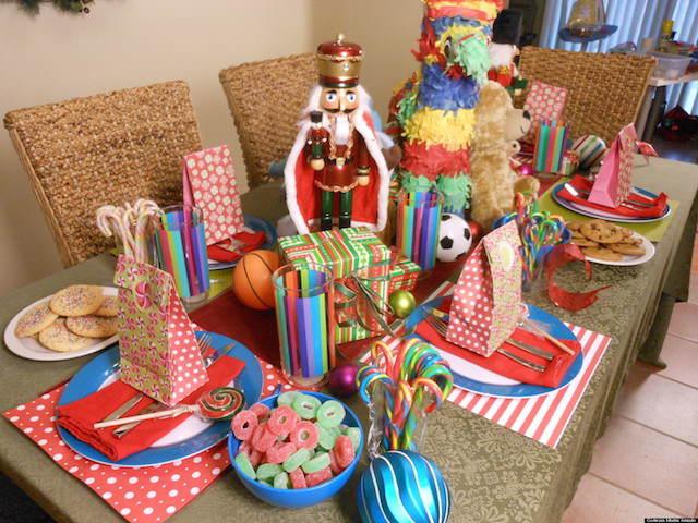 decoración temática fiesta reyes magos figuras regalos