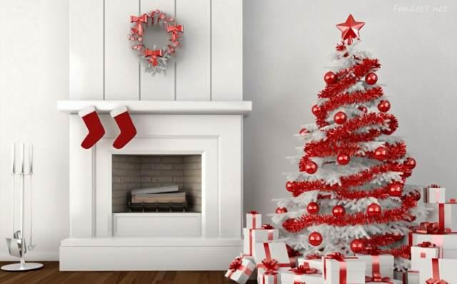 las decoraciones Navidad árbol