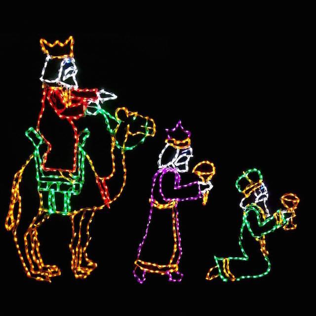 decorar reyes oriente iluminación idea innovadora