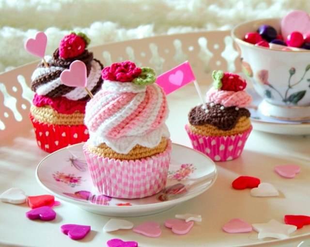 día San Valentín dulces decoración temática