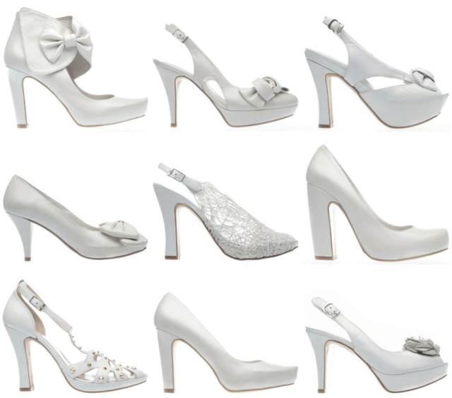 diferentes zapatos novia modelos tendencias nuevos