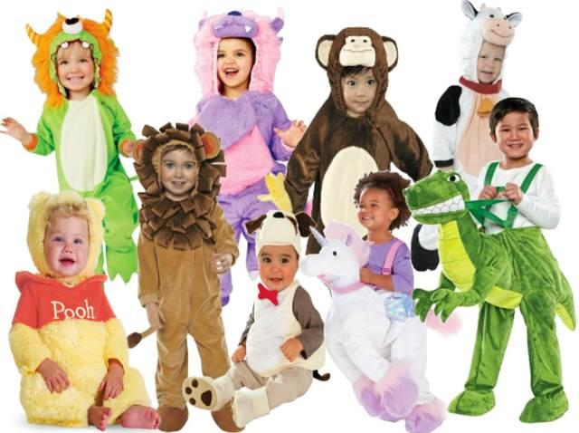 disfraces animales bebes niños fiestas infantiles