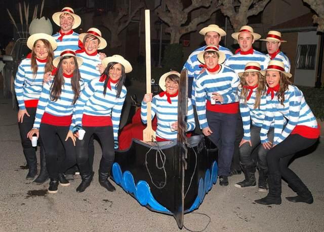 disfraces carnaval fiesta temática divertida