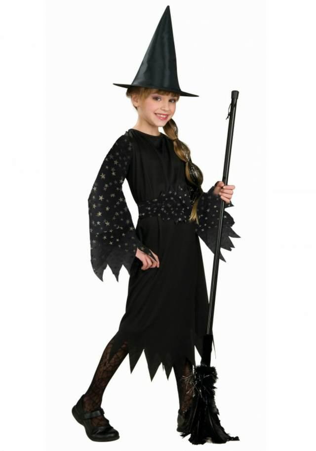 disfraces interesantes niños halloween bruja