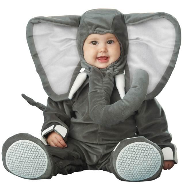 disfraces para niños elefante precioso