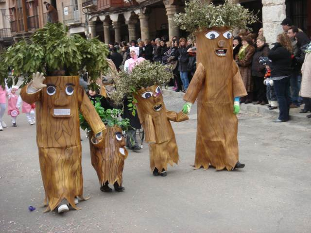 disfraz tronco carnaval evento temático