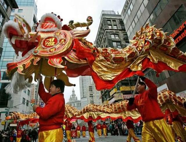 dragón símbolo  China el Año Nuevo