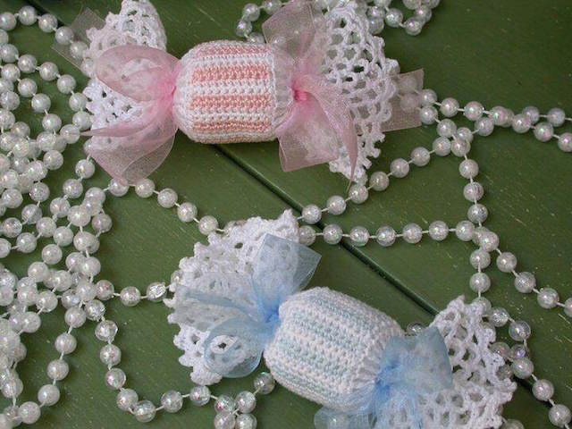 dulces decorados recuerdos para baby shower