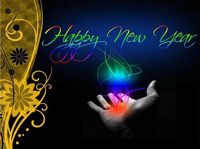 felicidades Año nuevo fiesta