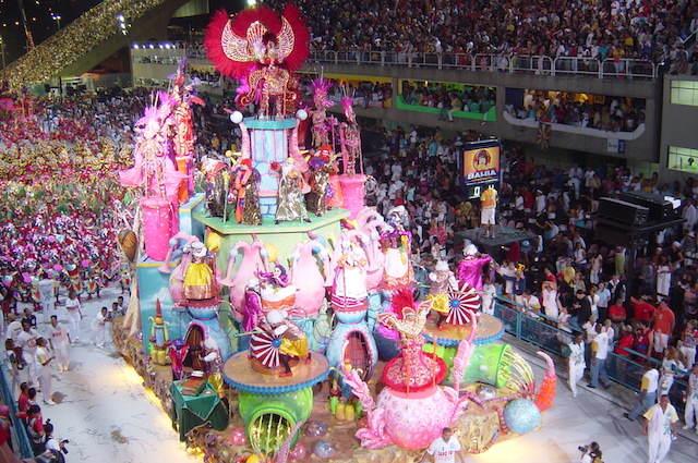 escuela samba carnaval Río de Janeiro
