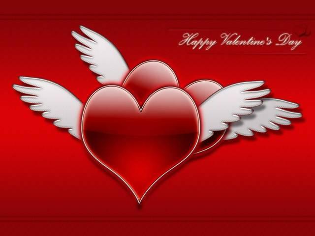 felicitaciones día de San Valentín flores