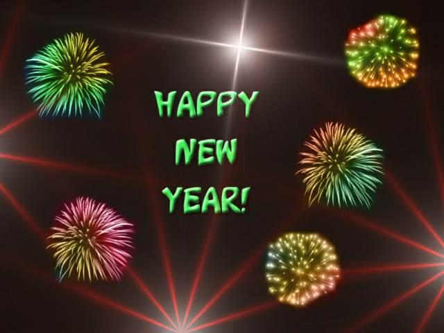 feliz año nuevo fiesta preciosa