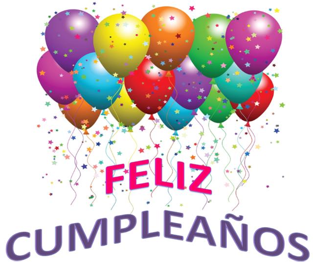feliz cumpleaños globos decoración interesante