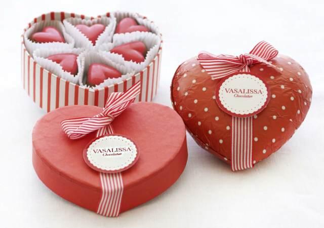 feliz día de San Valentín bombones