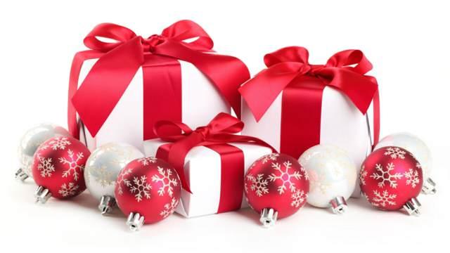 Navidad regalos decoración
