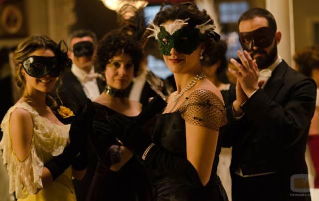 fiesta corporativa baile máscaras