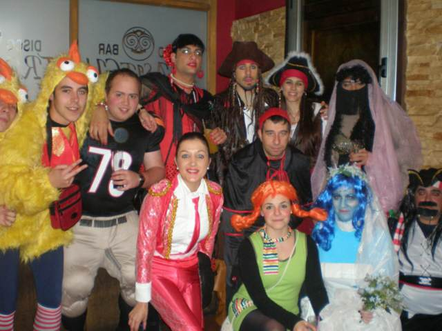 fiesta cumpleaños disfraces carnaval fiesta temática